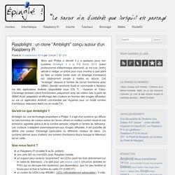 Raspbilight : un clone «Ambilight» conçu autour d'un Raspberry Pi