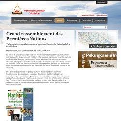 Grand rassemblement des Premières Nations