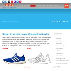 Raster to Vector Image Service at Lowest Cost On-demand
