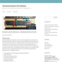 Evolution des Rasterduino – Barebone-Arduino für 5€