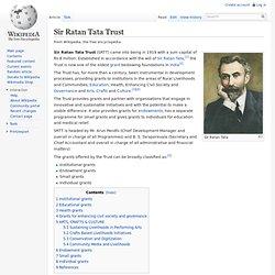 Sir Ratan Tata Trust