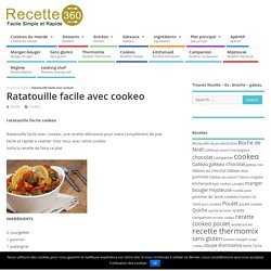 ratatouille facile cookeo