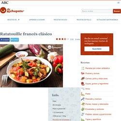 Ratatouille francés clásico - Recetas de rechupete - Recetas de cocina caseras y fáciles