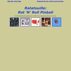 Ratatouille: Rat 'N' Roll Pinball Online Game