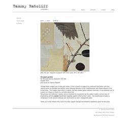 the paper garden – Tammy Ratcliff : Printmaker - Guelph Ontario