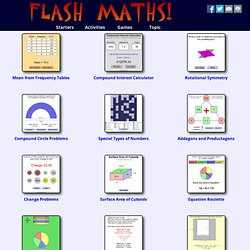 Flash Maths