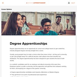 RateMyApprenticeship - Degree Apprenticeships UK