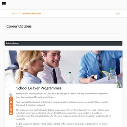 RateMyApprenticeship - School Leaver Programmes UK