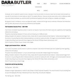 Dubai Corporate Headshot