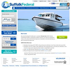 Low Rates on New and Used Boat Loans