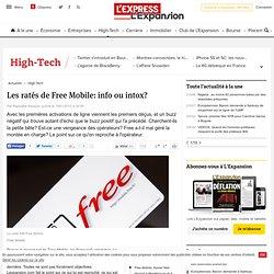 Les ratés de Free Mobile: info ou intox?