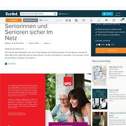 Online-Ratgeber: Seniorinnen und Senioren sicher Im Netz