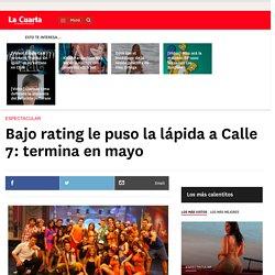 Bajo rating le puso la lápida a Calle 7: termina en mayo - www.lacuarta.com