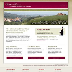 Stephen Tanzer's International Wine Cellar: Non-Subscriber