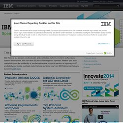 Collaborative software development - IBM Jazz
