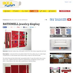 RATIONELL jewelry display