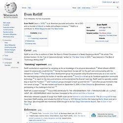 Evan Ratliff