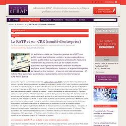 La RATP et son CRE (comité d'entreprise)