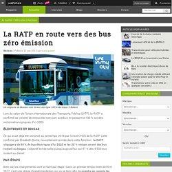 La RATP en route vers des bus zéro émission - Wehicles
