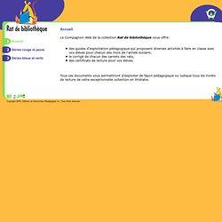 Rats de bibliothèque - Compagnon Web - ERPI