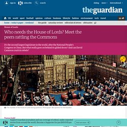 Who needs the House of Lords? Meet the peers rattling the Commons