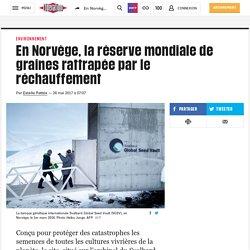En Norvège, la réserve mondiale de graines rattrapée par le réchauffement