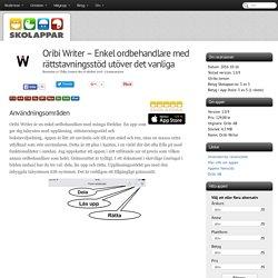 Recension av Oribi Writer - Enkel ordbehandlare med rättstavningsstöd utöver det vanliga