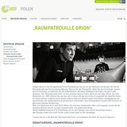 """Raumpatrouille Orion"" - Goethe-Institut Polen"