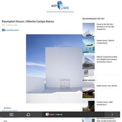 Raumplan House / Alberto Campo Baeza