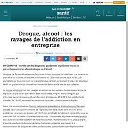 Drogue, alcool : les ravages de l'addiction en entreprise