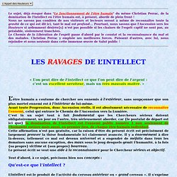 Les ravages de la domination de l'intellect