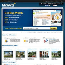 Raveable.com - hotel reviews without extra baggage