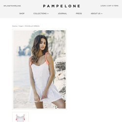 RAVELLO DRESS - PAMPELONE CLOTHING