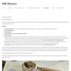 Ravenna Method Described — MK Mosaics