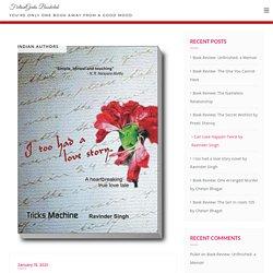 I too had a love story novel by Ravinder Singh - FictionGeeks Bookclub
