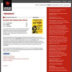 Ohjelma - Hyvä Jätkät -klubi: SnoWonder, Heimo, Little Jack