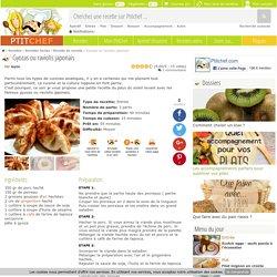 Gyozas ou raviolis japonais, Recette Ptitchef