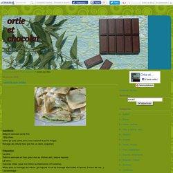 raviolis aux orties - Ortie et Chocolat