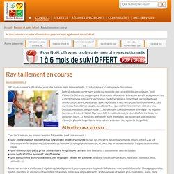 Ravitaillement en course - Nicolas AUBINEAU