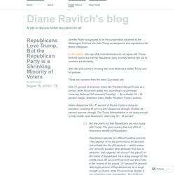 Diane Ravitch's blog