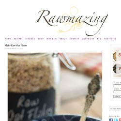 Raw Flaked Oats