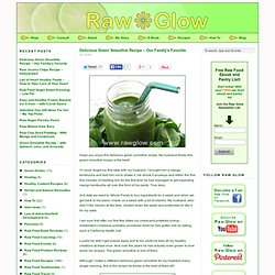 Raw Food Blog | Raw Glow