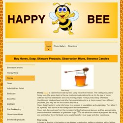 Never heated Honey