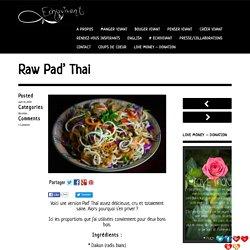 Raw Pad' Thaï