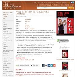 Wing Chun Kung Fu: Weapons Training by Shaun Rawcliffe, 9781847973887