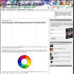 » RawTherapee: Développement avancé de fichier RAW