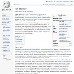 Ray Brassier - Wikipedia