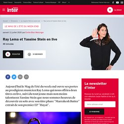 Ray Lema et Yassine Stein en live
