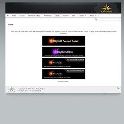 Raylight Games » Tools