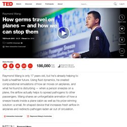 Raymond Wang: How germs travel on planes